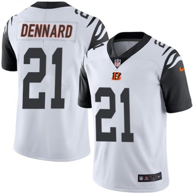 Youth Nike Cincinnati Bengals Darqueze Dennard Color Rush Jersey - White Limited
